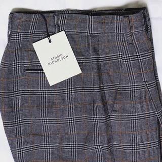 studio nicholson  CHECK pants (スラックス)