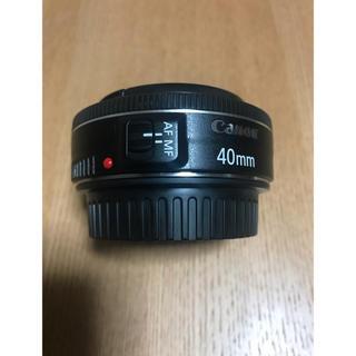 キヤノン(Canon)のCanon EF 40mm 1:2.8 STM(レンズ(単焦点))