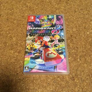 ニンテンドースイッチ(Nintendo Switch)のマリオカート8 デラックス(携帯用ゲームソフト)