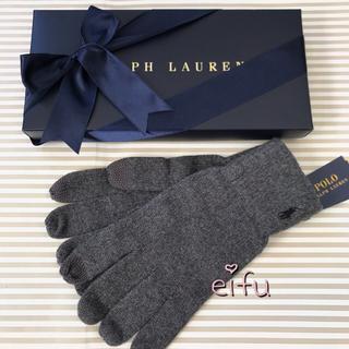 ラルフローレン(Ralph Lauren)のtme様専用ラルフローレン  手袋  メンズ POLO フリー オリーブ(手袋)