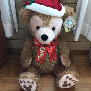 ダッフィー(ダッフィー)のMサイズ ダッフィー ぬいぐるみ クリスマス ディズニー 2016年 新品(ぬいぐるみ)