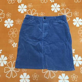 ローリーズファーム(LOWRYS FARM)のブルー スカート  春秋(ミニスカート)