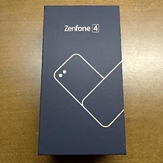 エイスース(ASUS)のASUS ZenFone4 SD660 国内版 ブラック 美品(スマートフォン本体)