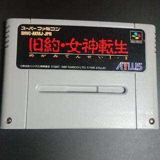 スーパーファミコン(スーパーファミコン)の旧約女神転生 スーパーファミコン(家庭用ゲームソフト)