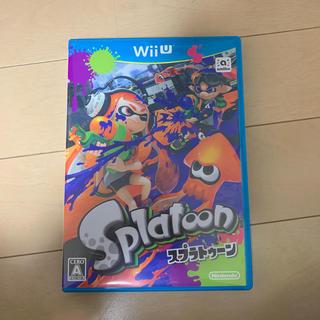 ウィーユー(Wii U)のWiiU スプラトゥーンソフト(家庭用ゲームソフト)