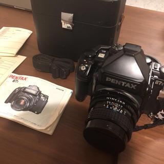 ペンタックス(PENTAX)のpentax 67 ii + レンズSMC105mm f2.4 本体(デジタル一眼)