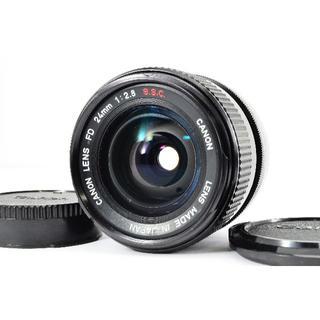 キヤノン(Canon)の★人気オールドレンズ★キャノン CANON FD 24mm F2.8 S.S.C(レンズ(単焦点))