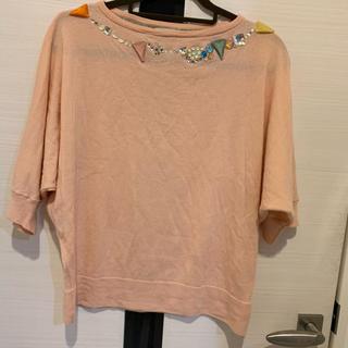 ツモリチサト(TSUMORI CHISATO)のピンク ツモリ ニット(ニット/セーター)