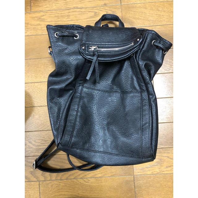 d3fc7eb32f11 heather(ヘザー)のヘザー 合皮リュック レディースのバッグ(リュック/バック