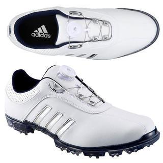 アディダス(adidas)の★新品税込◆アディダス Golf◆ピュアメタル ボア シューズ◆ホワイト(シューズ)