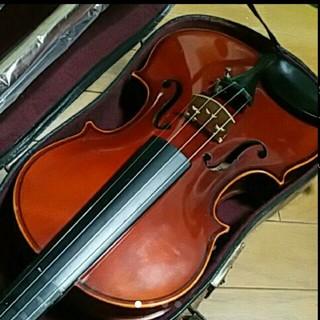 鈴木 バイオリン 日本製 証明ラベル有 No.101 未使用弓、松脂他セット(ヴァイオリン)