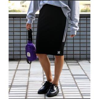 アディダス(adidas)のアディダス adidas タイトスカート ペンシルスカート スウェット(ひざ丈スカート)