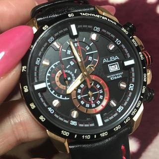 アルバ(ALBA)のALBAクロノグラフとノーブランド時計2個セット(腕時計(アナログ))