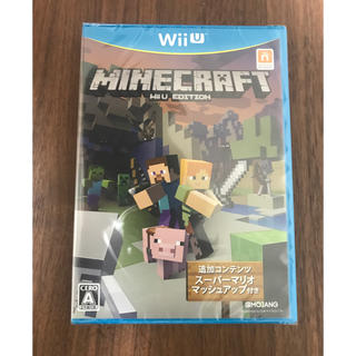 ウィーユー(Wii U)のマインクラフトWii U EDITION(家庭用ゲームソフト)