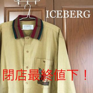 アイスバーグ(ICEBERG)の値下げ!ICEBERG Vintage シャツ ブレーメンの音楽隊(シャツ)