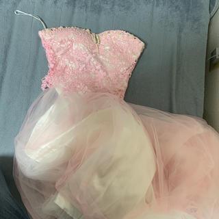 dazzy store - ピンクロングドレス
