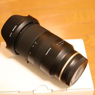 タムロン(TAMRON)のTAMRON 28-75mm F/2.8 Di Ⅲ RXD 超美品 α7Ⅲ(レンズ(ズーム))