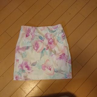 デイライルノアール(Delyle NOIR)のデイライル 花柄ミニスカート(ミニスカート)