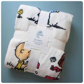 柔らかな肌触りスヌーピ毛布ブランケット(毛布)