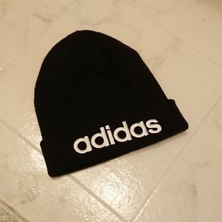 アディダス(adidas)のアディダス♡ニット帽ビーニー(ニット帽/ビーニー)