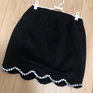 デイライルノアール(Delyle NOIR)のdelyle noir タイト スカート スカラップ(ミニスカート)