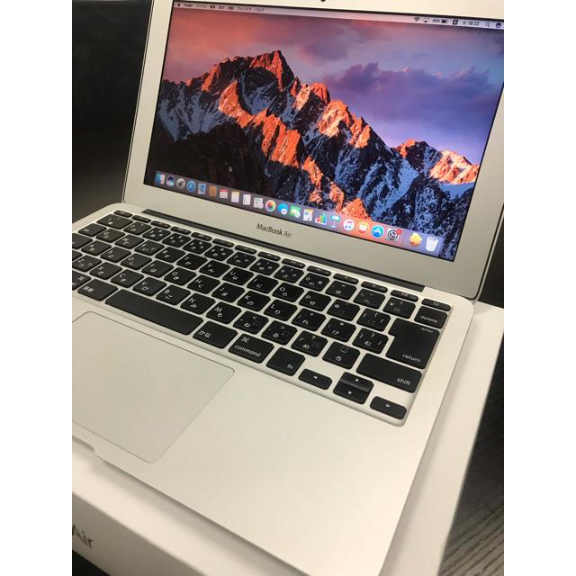 Mac (Apple)(マック)のMacBook Air 11インチ 美品 送料無料‼︎ 【充電回数極少】 スマホ/家電/カメラのPC/タブレット(ノートPC)の商品写真