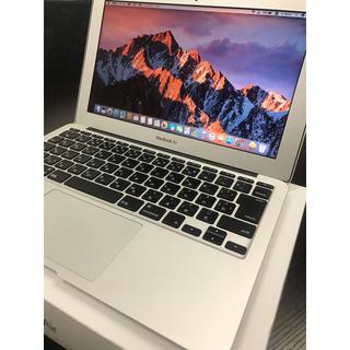 マック(Mac (Apple))のMacBook Air 11インチ 美品 送料無料‼︎ 【充電回数極少】(ノートPC)