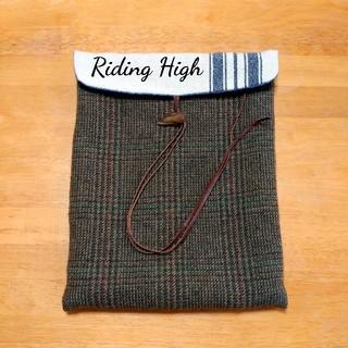 ビーミング ライフストア バイ ビームス(B:MING LIFE STORE by BEAMS)の【Riding High】ウールファイルケース 小物入れ(ポーチ)