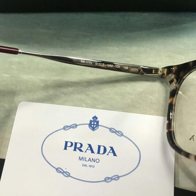a73c566c95c4 PRADA(プラダ)のprada メガネ pr11tv レディースのファッション小物(サングラス/メガネ