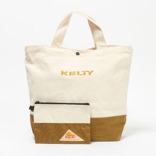 ケルティ(KELTY)の新品☆KELTY (ケルティ) ポーチ付き ショルダートートバッグ(トートバッグ)