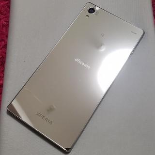 エクスペリア(Xperia)のdocomo Xperia Z5 Premium SO-03H Chrome(スマートフォン本体)