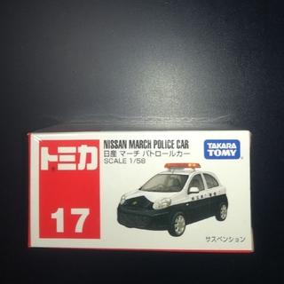 タカラトミー(Takara Tomy)のトミカ ミニカー 17 日産 マーチ パトカー (ミニカー)