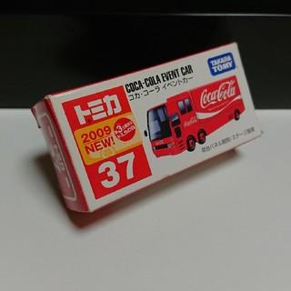 タカラトミー(Takara Tomy)のトミカ No.37 コカ・コーラ イベントカー(ミニカー)