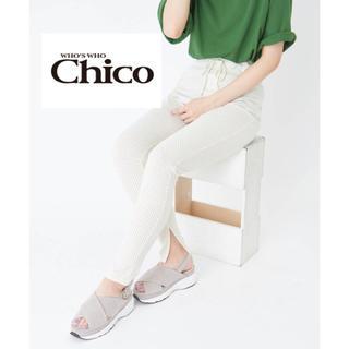フーズフーチコ(who's who Chico)のwho's who Chico ドット柄レギンス(レギンス/スパッツ)
