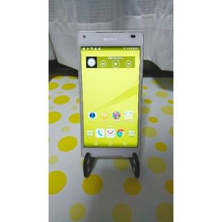 エクスペリア(Xperia)の☆美品☆Xperia Z5 Compact SO-02H White(スマートフォン本体)