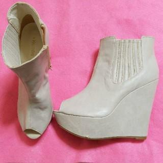 ブーツサンダル 新品未使用品 Sサイズ 足の小さい方へ(ブーツ)