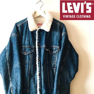 リーバイス(Levi's)のリーバイス Levi's デニムジャケット Gジャン ボア 90s トレンド(Gジャン/デニムジャケット)