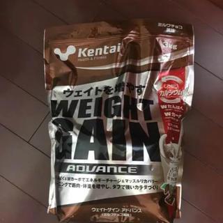 ケンタイ(Kentai)のKentai NEWウェイトゲイン アドバンス ミルクチョコ 3kg  新品(プロテイン)