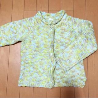 ジーユー(GU)のセーター カーディガン GU 120cm 美品(カーディガン)