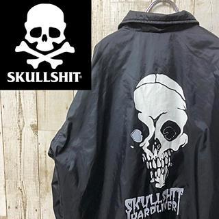スカルシット(SKULL SHIT)の古着 SKULLSHIT スカルシット ナイロン  コーチ ジャケット XL(ナイロンジャケット)