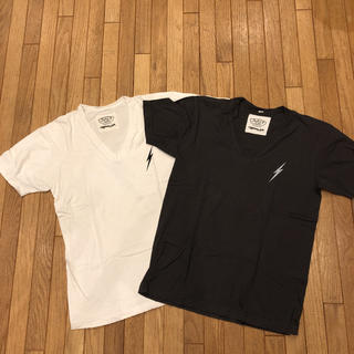 ジョンズクロージング(JOHN'S CLOTHING)のJohn's SURF  VネックTシャツ(Tシャツ/カットソー(半袖/袖なし))