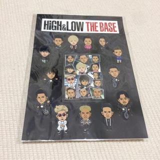 エグザイル トライブ(EXILE TRIBE)のHigh&Low THE BASEステッカー(ミュージシャン)