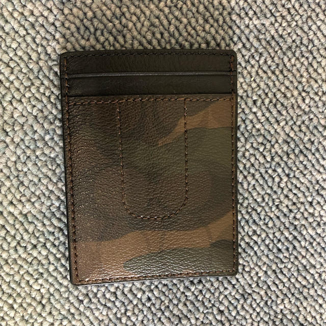 COACH(コーチ)のコーチ 新品 カードケース マネークリップ セット 迷彩 C0386 メンズのファッション小物(マネークリップ)の商品写真