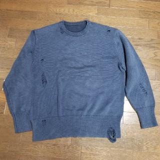 ユニフォームエクスペリメント(uniform experiment)のRyo様専用 ネイビー uniform experiment (ニット/セーター)