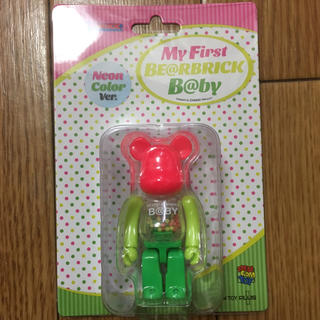MEDICOM TOY - MY FIRST BE@RBRICK B@BY NEON Ver. 100%