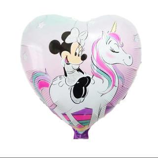 ディズニー(Disney)のミニーちゃん Disney バルーン ハート(命名紙)