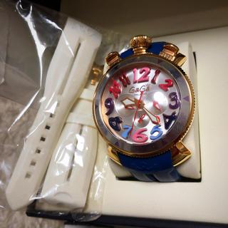 ガガミラノ(GaGa MILANO)の☆ラバーベルト二個付き☆ガガミラノ☆クロノグラフ☆48MM☆6056.9☆(腕時計(アナログ))