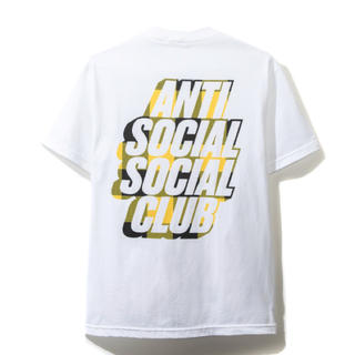 アンチ(ANTI)のBlocked Yellow Plaid White Tee(Tシャツ/カットソー(半袖/袖なし))