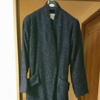 トゥモローランド(TOMORROWLAND)の美品 トゥモローランド ガウンコート 短時間着用のみ 40サイズ(ガウンコート)