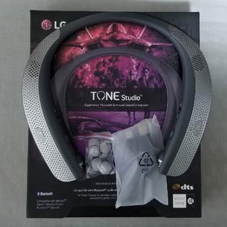 エルジーエレクトロニクス(LG Electronics)の【くじから様専用】LG TONE STUDIO HBS-W120 (ヘッドフォン/イヤフォン)